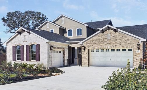 A model home in the Alamo Ranch subdivision. Alamo Ranch has earned a spot on John Burns Real Estate Consulting's list of top master-planned communities in America.