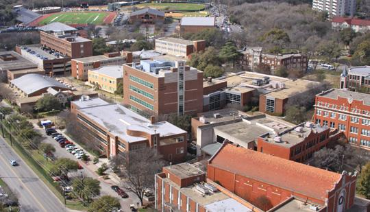 An aerial view of the University of the Incarnate Word campus. UIW once again has been recognized for being 'Military Friendly.'