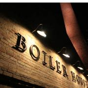 The Boiler House restaurant got its name from the original boiler house that powered the former Pearl Brewery.