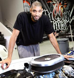 Spurs forward Tim Duncan has launched a new automotive venture in San Antonio called BlackJack Speed Shop.