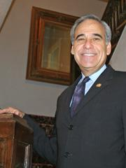 Former U.S. Rep. Charlie Gonzalez, D-San Antonio, has donated his congressional papers to the University of Texas at San Antonio.