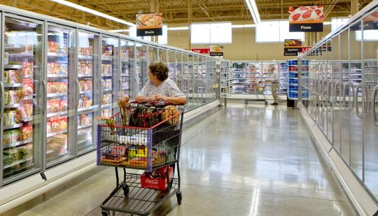 H-E-B's new store on Babcock and Huebner will soon be open for business.
