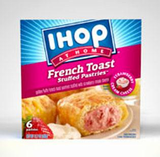 IHOP has developed a new line of frozen breakfast items that will be sold nationwide.