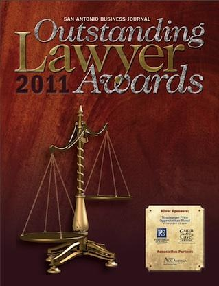 The San Antonio Business Journal is still soliciting nominations for Outstanding Lawyers.
