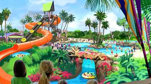 New Stingray Rapids water ride planned for SeaWorld San Antonio.