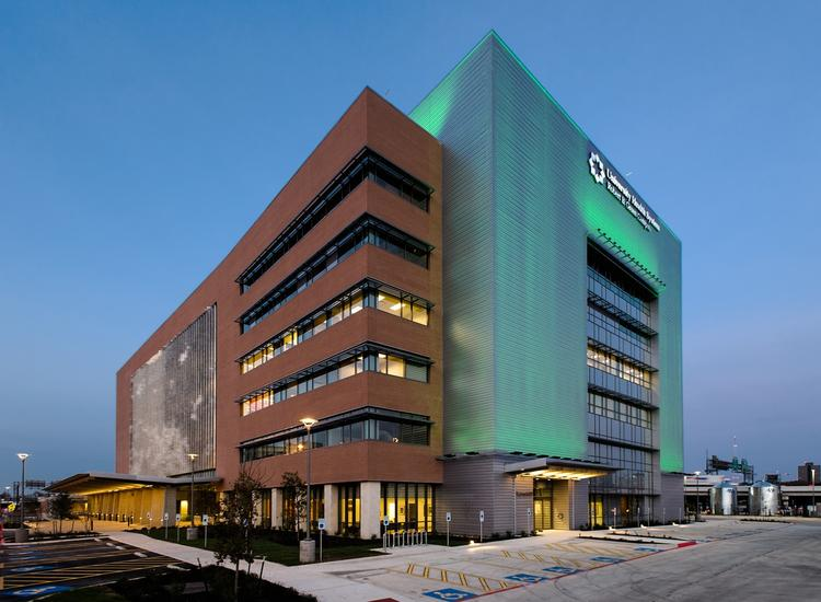 The University Health System Clinical Pavilion.