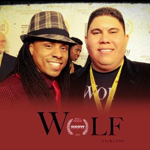 Ya'Ke Smith and Ralph Lopez at the Dallas International Film Festival.