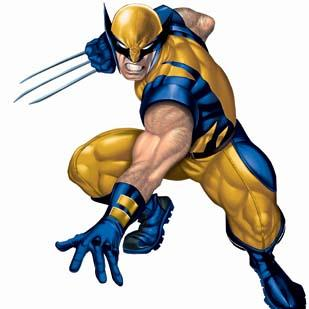 Marvel Entertainment and the NBA are teaming up to design a collection of artwork featuring super heroes sporting team logos. Wolverine will promote the Spurs.