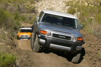FJ Cruiser owners are being asked to take their vehicles in to their nearest Toyota dealership to address a recall on seat belts.
