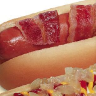 Wienerschnitzel is introducing a new line of bacon-wrapped hot dogs in San Antonio.