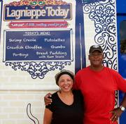 Suzanna and Joseph Jackson are the owners of creole-themed food truck Lagniappe Today.