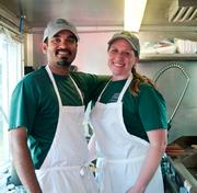 Sameer and Meagan Siddiqui are the owners of The Rickshaw Stop.