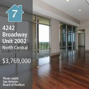A three-bedroom, six-bath condominium, with 5,395 square feet of space.