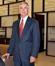 Broadway Bank Chairman and CEO Jim Goudge is building out the lender's branch network along the I-35 corridor.