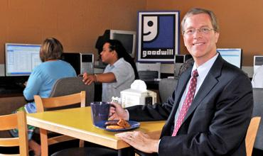 Goodwill Industries of San Antonio President and CEO Bob Dugas