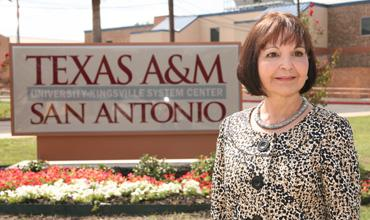 Texas A&M University-San Antonio President Maria Hernandez Ferrier is leading the fastest-growing institution in the A&M System.