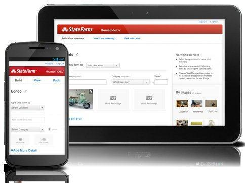State Farm has created a new app for homeowners insurance policyholders.