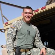 U.S. Army Captain Joe Parker served two tours in Iraq before joining USAA.