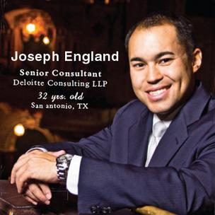 Meet today's 40 Under 40:  Joseph England