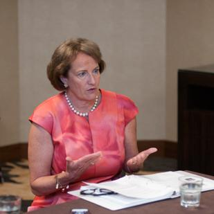 Small Business Administration head Karen Mills is stepping down.