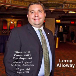 Meet today's 40 Under 40: Leroy Alloway