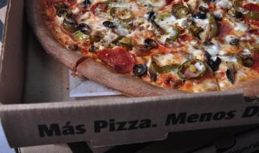 On June 5, if you order from Pizza Patron in Spanish, the company will give you one free pizza.