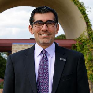 R. Michael Flores is the new president of Palo Alto College.