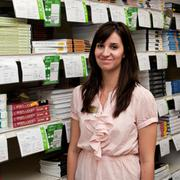 Christa Cooper graduated from Texas A&M University-San Antonio with a business degree. She now is the manager of the Barnes and Noble College bookstore on the Texas A&M-San Antonio campus.