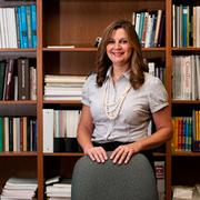 Karen Schwabe graduated with a master's in school psychology from Trinity University's education department. She will work as a school counselor at John Jay High School, which has more than 3,000 students, in the Northside Independent School District.