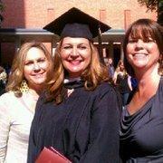 Karen Schwabe's graduation photo from Trinity University.