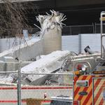 University Hospital building collapse halts parking project