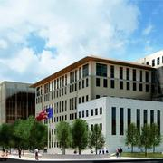Best Municipal Project:City of San Antonio Public Safety Headquarters —Rendering of the new Public Safety Headquarters at 315. S. Santa Rosa, where the City of San Antonio's police and fire departments will be housed under one roof.