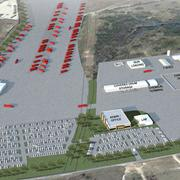 Best Overall Deal (photo 2): Rendering of Halliburton's South Texas Operations campus, courtesy of Halliburton and Big Red Dog Engineering | Consulting. Total project is $50 million on 150 acres at the intersection of IH-37 and Loop 1604 South.