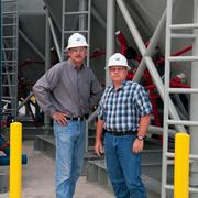 Best Overall Deal: Baker Hughes Inc. San Antonio CampusBaker Hughes employees Steve Webb, district manager for pressure pumping, and David Cherry, facility manager, on an early morning in June 2012 at the San Antonio campus.