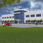 Best Overall Deal (photo 2): Rendering of the completed Baker Hughes office by Multatech. Total project is $40 million on 60 acres at Interstate 37 and U.S. Highway 181.