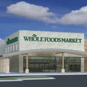 Best Retail Lease:Whole Foods Market at The Vineyard—Rendering of the upscale, organic-focused grocer — which will feature an outside patio area for customers. Architect Madeline Slay designed the store: REATA's Thomas Tyng brokered the lease.