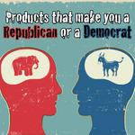Brands that identify people as Democrats or Republicans (Slideshow)