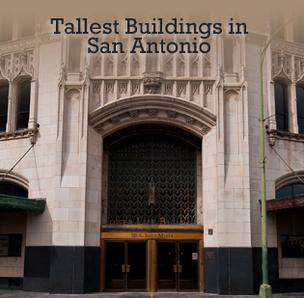 The San Antonio Business Journal has published a slideshow of the five tallest buildings in the city.