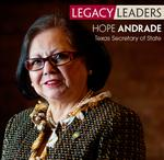 Hope Andrade appointed to Texas Workforce Commission
