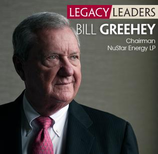 NuStar Energy Chairman Bill Greehey accepted the San Antonio Business Journal's Legacy Leader Award in 2012. The San Antonio Hispanic Chamber of Commerce is awarding him its 2013 Lifetime Achievement Award.