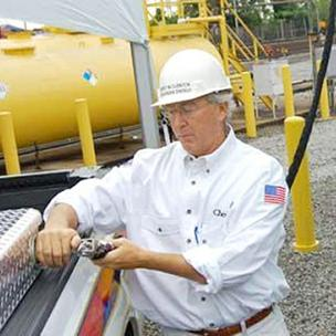 Chesapeake Energy Corp. CEO Aubrey McClendon.