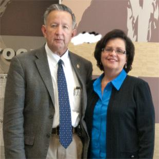 Joe and Lita Salazar are owners of a successful McDonald's franchise in Laredo.
