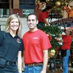 Seasonscapes decks the halls of area businesses