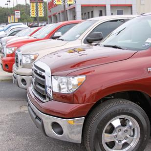 Sales of the Toyota Tundra increased 18 percent in 2010.