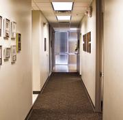 The hallway of Associated Builders & Contractors of South Texas.