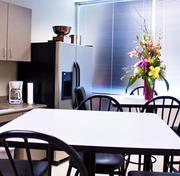 The kitchen space of Associated Builders & Contractors