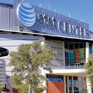 AT&T Center, home of the American Hockey League's San Antonio Rampage.