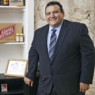 Andrew Anguiano, owner of Drew Advertising, has enjoyed steady growth with his company despite the persistent recession.