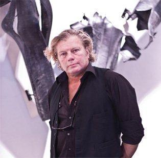 Icelandic artist Gudjon Bjarnason.