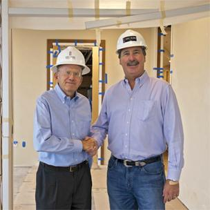 (L to R) James C. Browning and Bart C. Koontz are bringing their experience and relationships in the construction industry together under one roof.